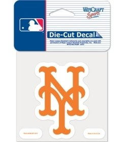 (WinCraft MLB New York Mets 79774010 Perfect Cut Color Decal, 8