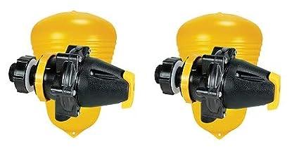2 Jobe Valves J-MFV20DLT 82026 Megaflow Valve Yellow//Black 3//4