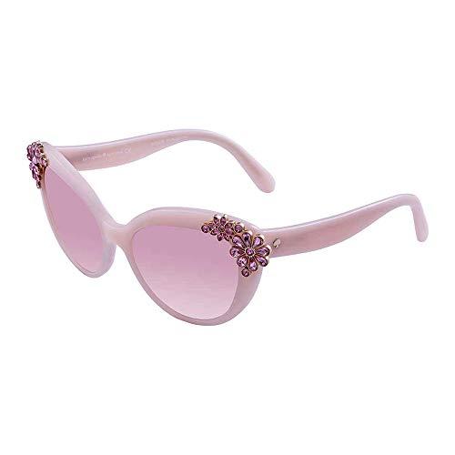 Kate Spade Women's Karyna/S Non-Polarized Cateye Sunglasses, Opal Pink/Pink SF, 55 mm