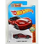 Hot Wheels 2016 HW Digital Circuit 11 Corvette Grand Sport [Maroon] Treasure Hunt #22 250