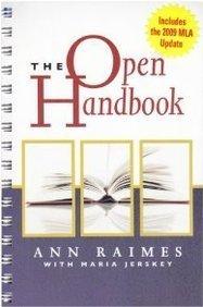The Open Handbook: With 2009 Mla Update Card