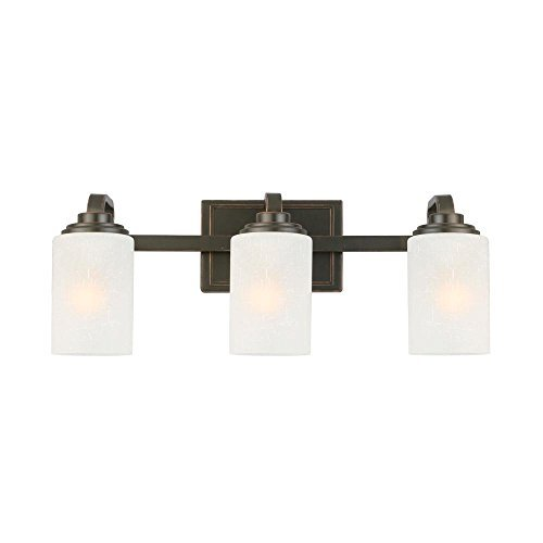 Hampton Bay 3-Light Oil-Rubbed Bronze Vanity Light