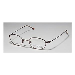 Lightec Genesis 56 Mens/Womens Prescription Ready Contemporary Designer Full-rim Flexible Hinges Eyeglasses/Eye Glasses (45-20-140, Bordeaux)