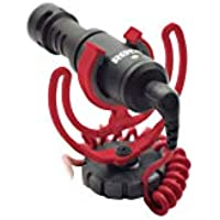 Rode VideoMicro Compact On-Camera Microphone with Rycote...