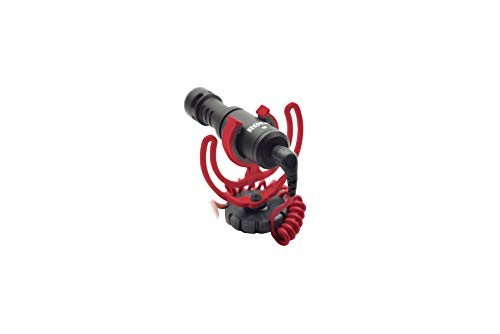 Rode VideoMicro Compact On-Camera Microphone with Rycote Lyre Shock Mount by Rode