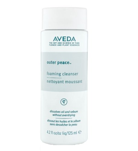 Aveda Outer Peace Foaming Cleanser 4.2 oz Deeply Cleanses Pores Without Irritating Skin