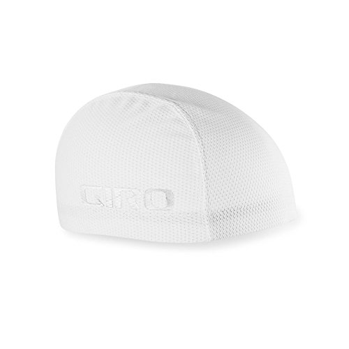 Giro SPF30 Ultralight Skull Cap - White (Bicycle Skull Cap)