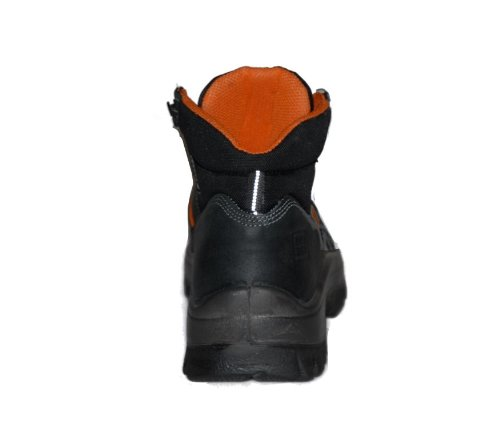 Calzado de protecci/ón de cuero para hombre negro negro No Risk