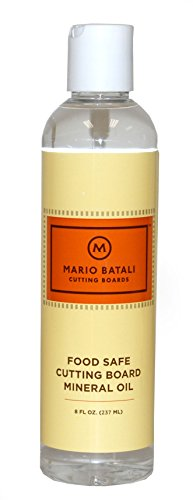 Mario Batali food safe cutting board mineral oil by Mario Batali
