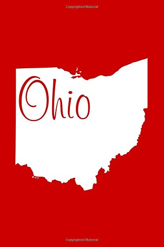 Read Online Ohio - Red Lined Notebook with Margins: 101 Pages, Medium Ruled, 6 x 9 Journal, Soft Cover pdf epub