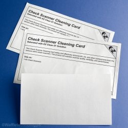 Kicteam K2-CIB25 Check Scanner Cleaning Card