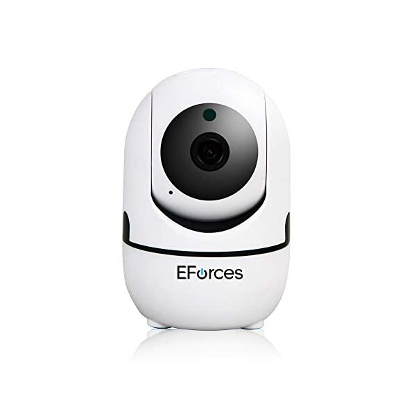 EForces 1080p Smart Camera Baby Monitor Home Surveillance Home, Furniture & DIY Wireless Home Security Dome Camera