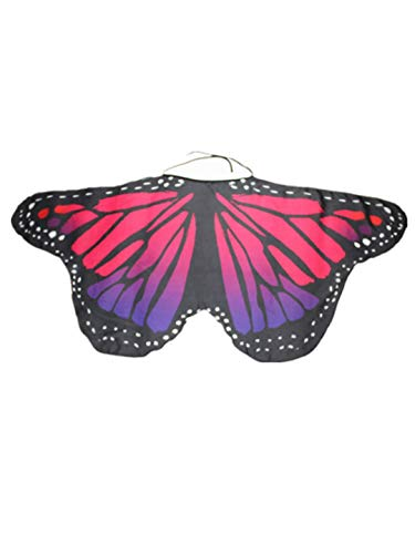 (iLXHD Christmas Party Prop Kid Baby Girl Soft Fabric Butterfly Wings Shawl Scarves Nymph Pixie Poncho Costume)