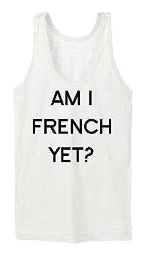 Am I French Yet Tanktop Girls Bianco