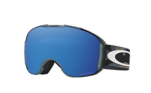Oakley Men's Airbrake XL Snow Goggles, Blue, Prizm Sapphire Iridium, - Oakley Goggles Blue