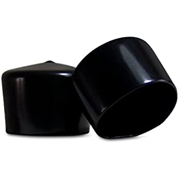 Amazon Com 8 Pack Vinyl Round Pipe End Cap Cover Tall