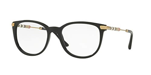 Burberry Women's BE2255Q Eyeglasses Black ()