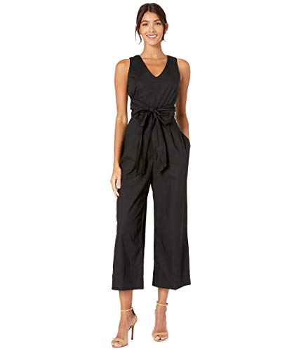 - J.Crew Women's Dark Matter Jumpsuit Stretch Poplin Black 10