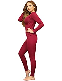 Amazon.com: Red - Thermal Underwear / Lingerie, Sleep & Lounge ...