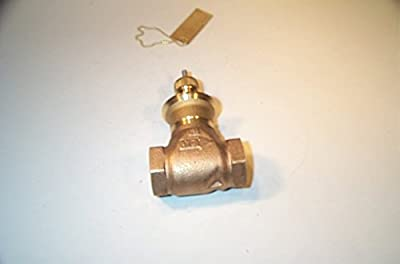 Globe Valve, 2-Way, NO, 3/4 In, (F)NPT by Johnson Controls, Inc.