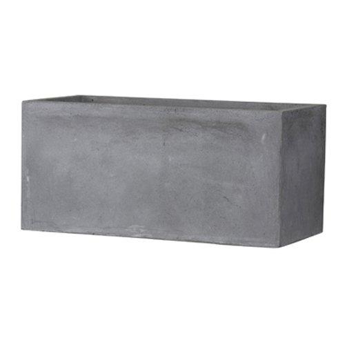 ラティス付きプランターカバー750型 幅72.5cm ×奥行き29 cm ×高さ75.2cm ダークブラウン B01B2MNDDK