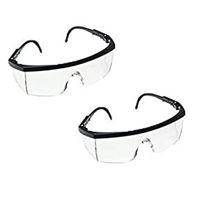 3M 1710 IN Protective Safety Spectacles, Pack...