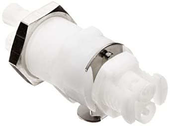 """Colder Acetal Twin Tube Quick Connect Coupling Sets for 1/16"""" Tubing, 1.73"""" Coupler L, 1.15"""" Plug L, with Buna-N Seal (Pack of 5)"""