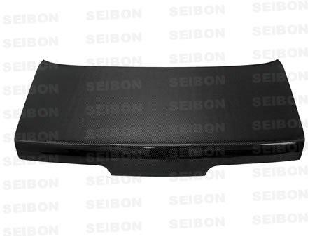 Seibon Carbon Fiber OEM-Style Trunk Lid Nissan 240SX S13 2dr 89-94