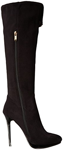 Luichiny Womens Party Town Snow Boot Black C8aOjTx0zy