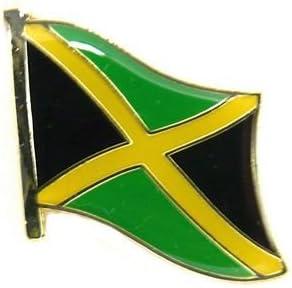 Banderas Pin Bandera Jamaica Pins nuevo broche (: Amazon.es: Deportes y aire libre