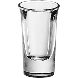 Libbey Glassware 5031 Whiskey Glass, Tall, 1 oz. (Pack of 72) ()