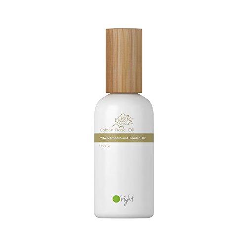 O'right Golden Rose Oil (100ml) Velvety Smooth and Tender Hair, for Color Treated Damaged Hair, Gluten Free, Vegan (Oil Touch Tender)