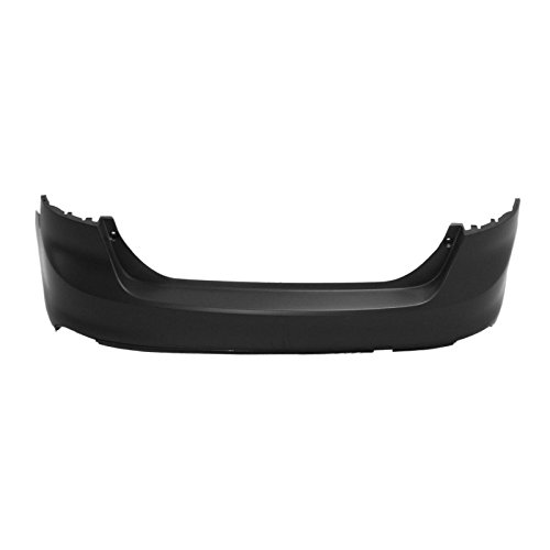 Ford Bumper Rear Focus (MBI AUTO - Painted to Match, Rear Bumper Cover for 2012-2014 Ford Focus Sedan 12-14, FO1100677)