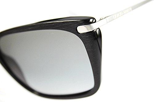 a95f6d88322e66 ... Giorgio Armani Lunettes de soleil 8019 Pour Femme Matte Black   Grey  Gradient Noir
