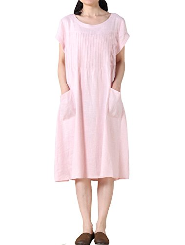 Vogstyle - Vestido - para mujer Rosa