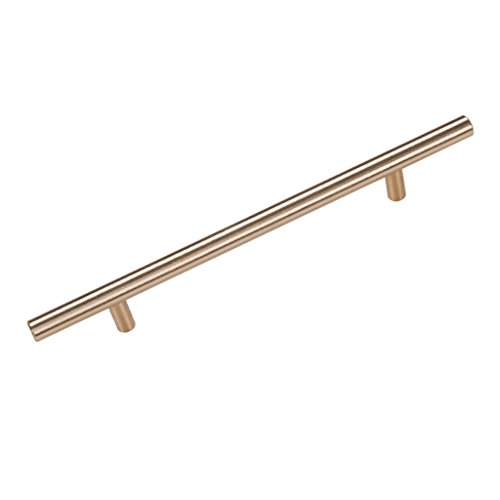 handle Door Pull Handle, Euro Style handles For Cabinet/Wardrobe/Drawer/Bookcase , Decor Aluminum Alloy Pull Handles With Mount Screws, Buy One Get One Free ( Color : Golden , Size : 256mm )