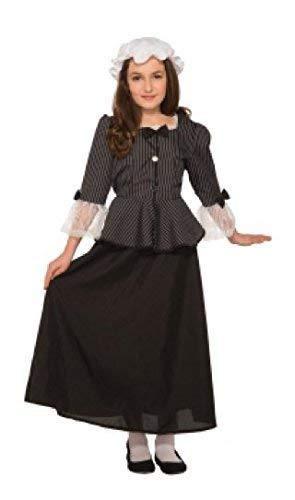 Forum Novelties 81226 Martha Washington Child's Costume, Large - Dress Mob Womens