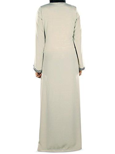 273 AY amp; Abaya ricamato MyBatua caldo abito abaya Occasione convenzionale abito Ffnvqwz