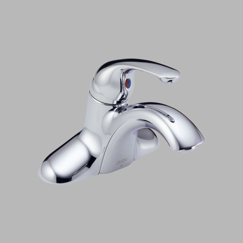 Delta Innovations Centerset (Delta Innovations: Single Handle Centerset Lavatory Faucet - Less Pop-Up)