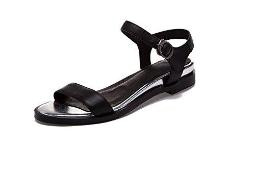 Allhqfashion - Sandalo Donna Con Cinturino E Sandali Con Cinturino Nero