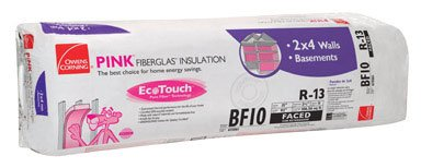 "Owens Corning Insulation 15 "" X 93 "" L R13 106.56 Sq. Ft...."