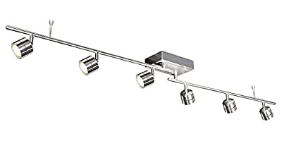 AFX Lighting CRRF6400L30SN Core Ceiling/Wall Mount LED Fixed Track Fixture
