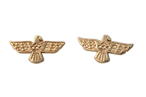 Gold Bald Eagle Stud Earrings for Women Patriot Earrings America Jewelry