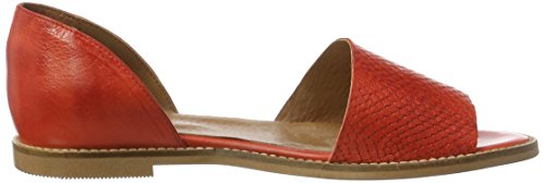 Bianco Women's Mit Fersenkappe 21-49294 Closed Toe Sandals Red (Red 45) lhJCi6