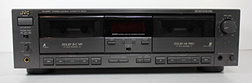 JVC TD-W307 Stereo Double Cassette Deck Tape Deck Recorder