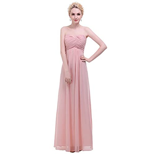 Pink Gowns and Evening Dresses: Amazon.com