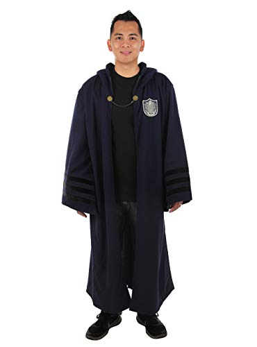 elope Fantastic Beasts: The Crimes of Grindelwald Slytherin Adult Robe One Size Blue]()