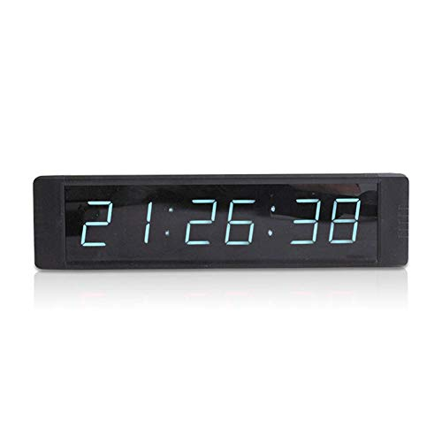 - XIEXIE Countdown 1 Inch 6 Digit Used for Meeting and Speech Contest Countdown Reminder Indoor Electronic Digital Timer with Wireless Remote Control,White