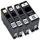 Compatible DELL Series 31/32/33/34 INK Cartridge Set Black Cyan Yellow Magenta Extra High Yield