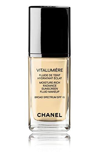 VITALUMIÈRE Moisture-Rich Radiance Sunscreen Fluid Makeup Broad Spectrum SPF 15 Color: 20 Clair ()